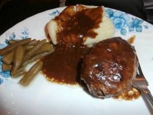 Homemade Salisbury Steak #Delicious #Dinner